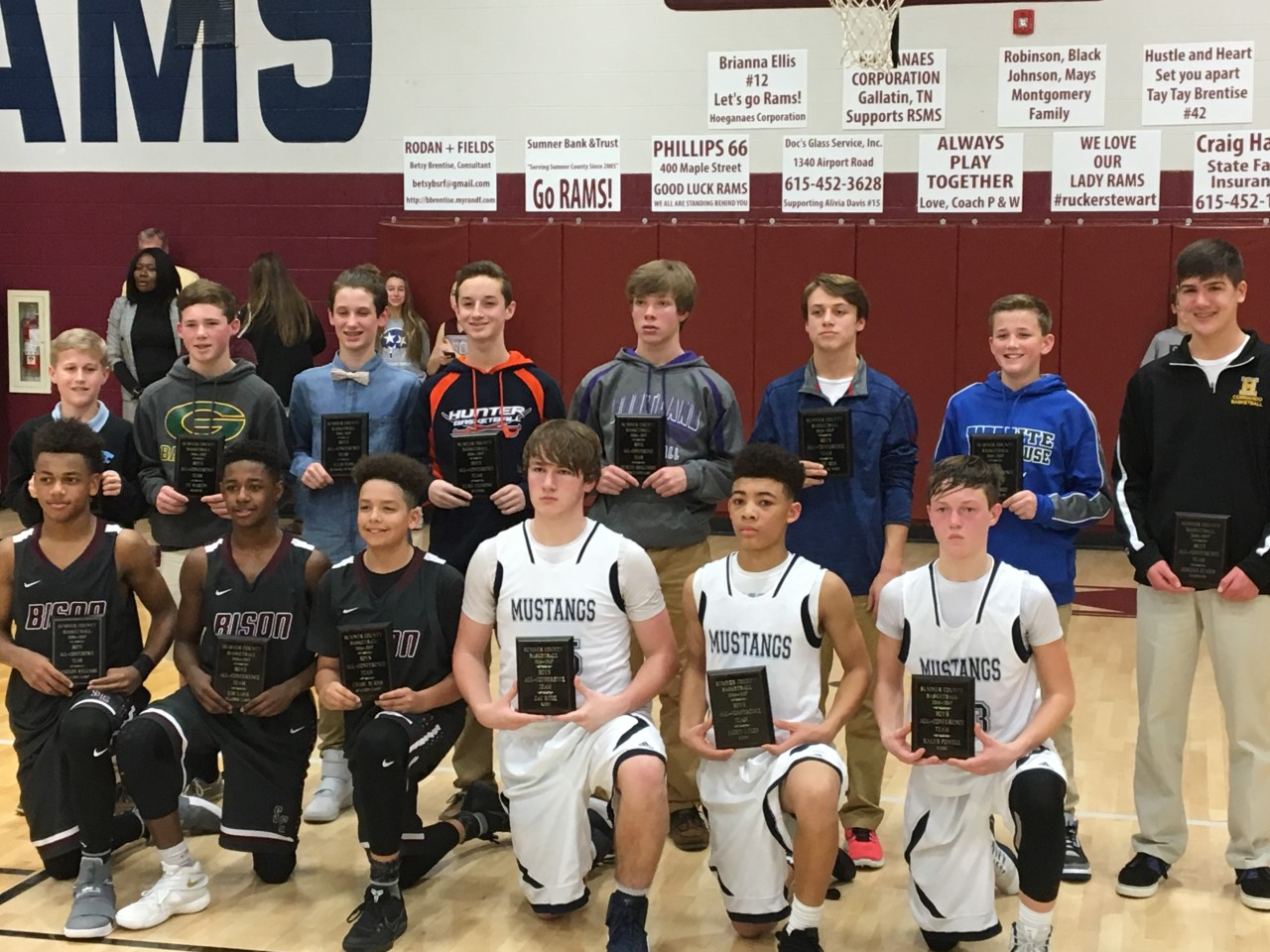 All County Basketball Team