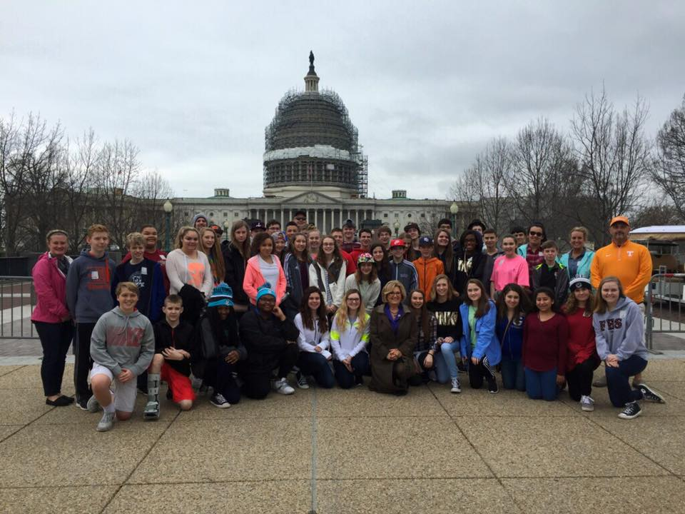 Class trip to Washington D.C.